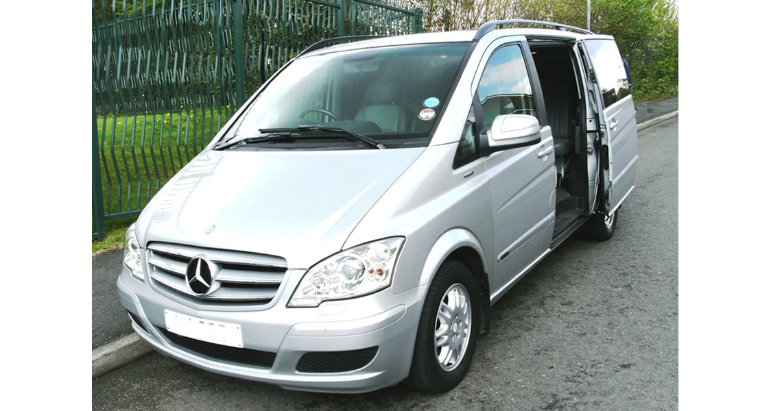 Leeds Executive Transfer - Mercedes Viano